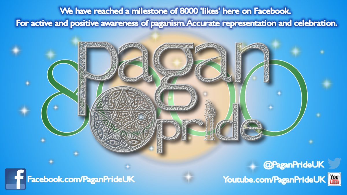 Pagan Pride milestone graphics