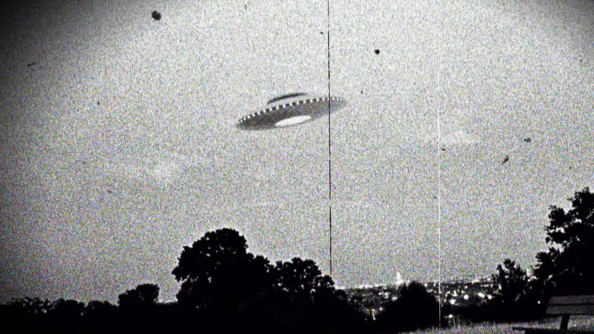Did a UFO crash in Nottingham in 1987?