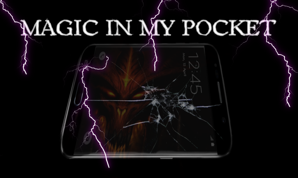 Magic in my pocket: The Black Mirror