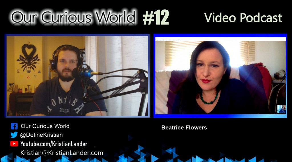 Beatrice Flowers | Our Curious World with Kristian Lander #12 Lucid Dreaming