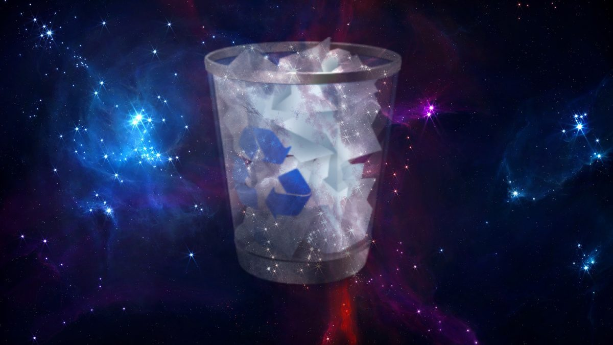 Ghosts stuck in the recycle bin of the holographic universe.