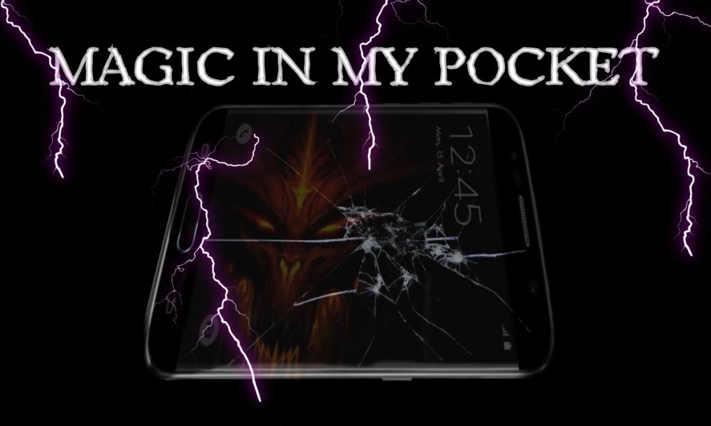 Magic in my pocket: The Black Mirror