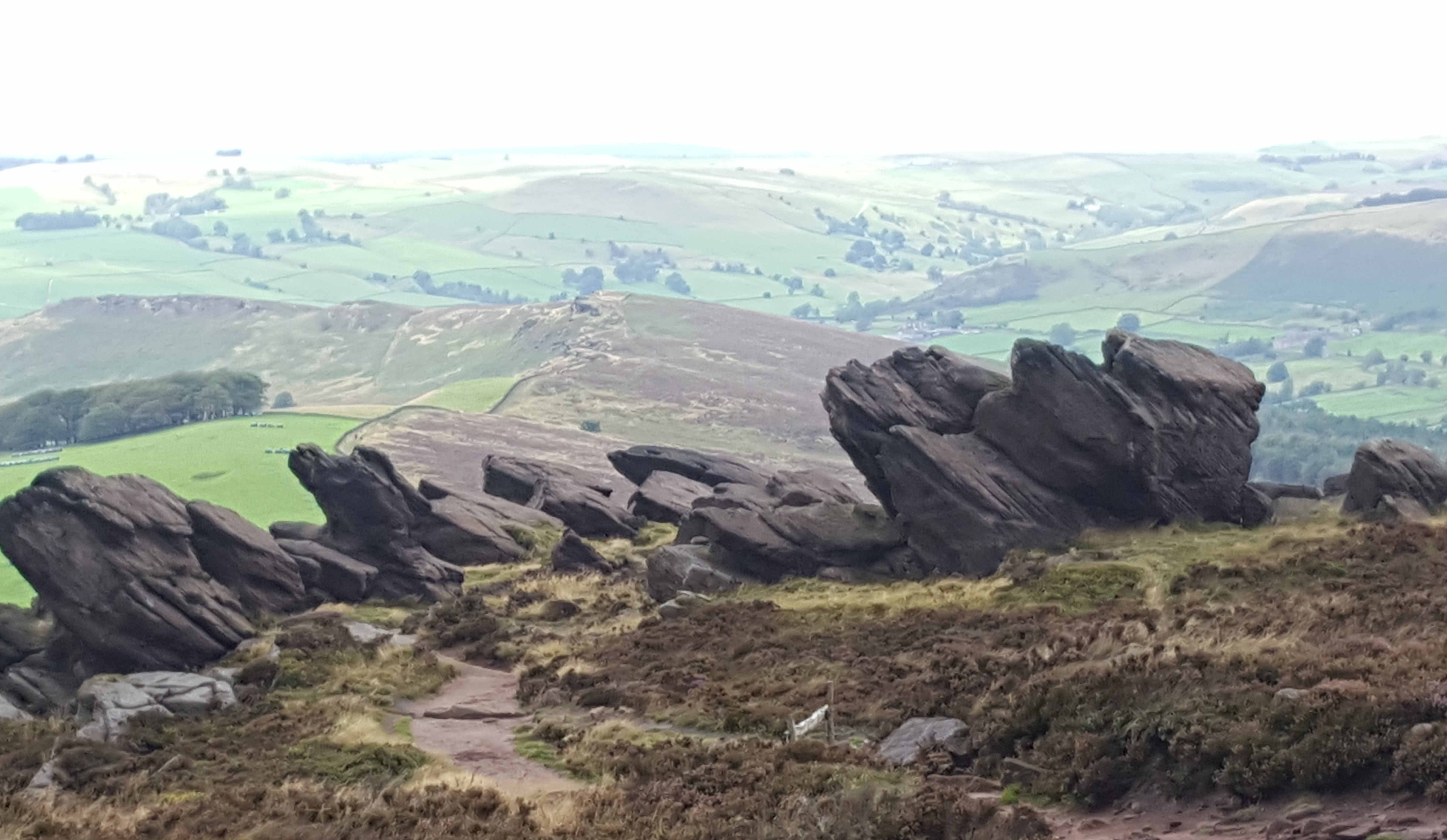 Camping VLOG – Ancient sites, The Roaches and Luds Church