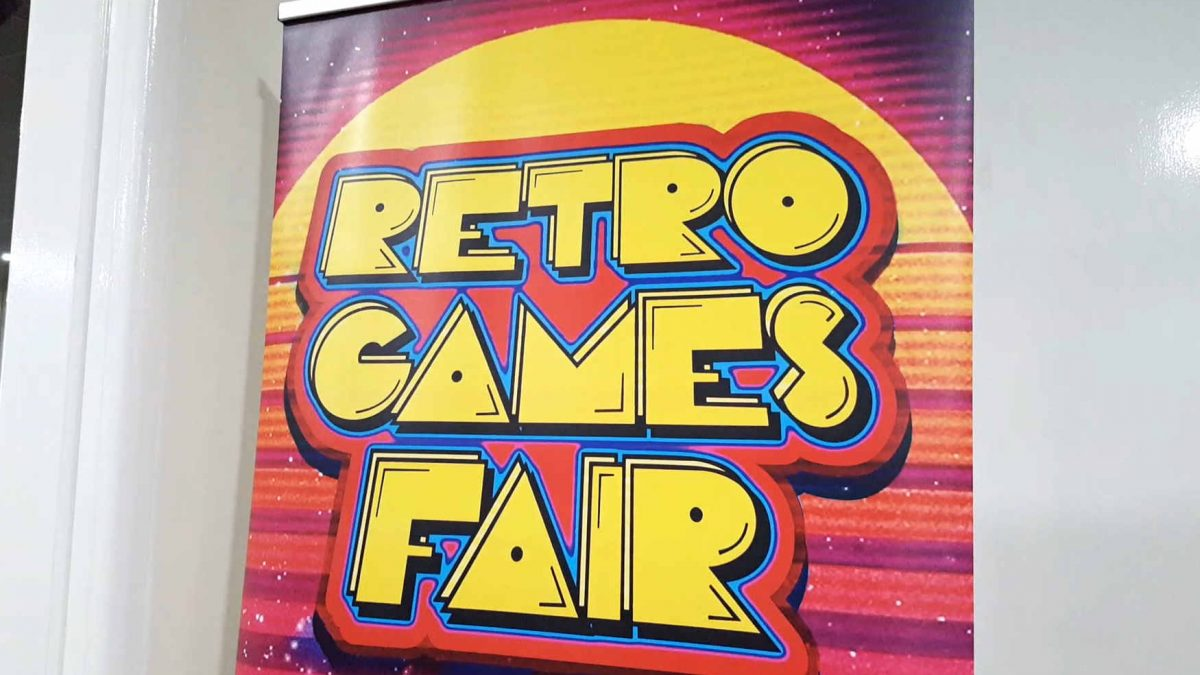Nottingham Retro Games fair. Made some pick ups! + James Jarvis of ItsMuchMore