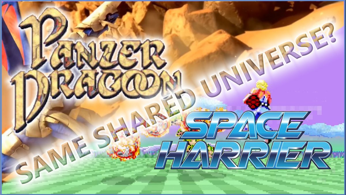 Panzer Dragoon and Space Harrier set in same universe?
