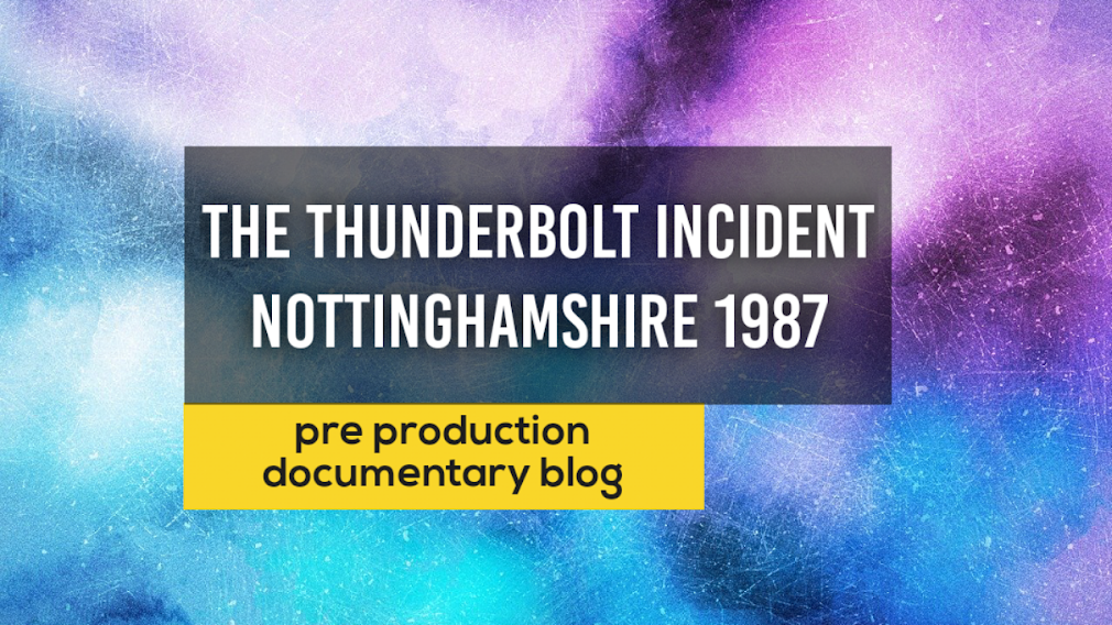 The Thunderbolt incident – What lead me to this point.